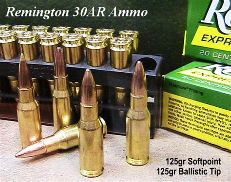 show report remington 30ar rifles and ammo 171 daily