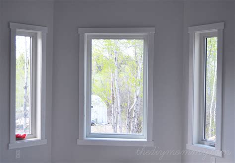 modern window trim image from http thediymommy com wp content uploads 2013