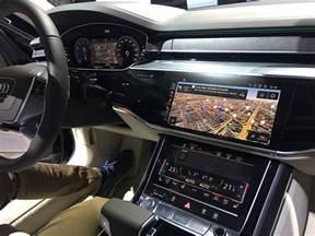 Audi A8 Interior Traffic Jam Assist Among The Nvidia Powered Ai