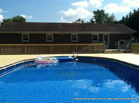 Backyard Pools Nc Tubs And Swimming Pools Installed By Backyard Leisure