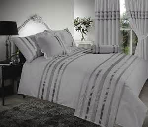 Silver Duvet Cover Grey Silver Stylish Sequin Duvet Cover Luxury Beautiful
