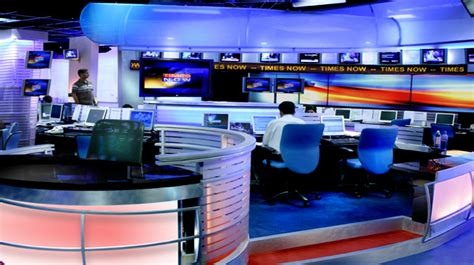 Home Design And Lighting times of india set design newsrooms broadcast design