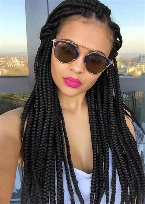 box braids  theyre great    wear