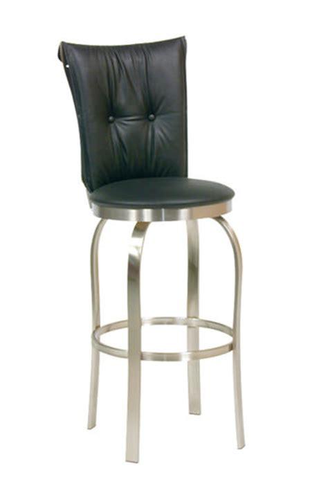 trica grace 30 brushed steel bar stool w swivel trica s tuscany 1 modern swivel stool w brushed steel
