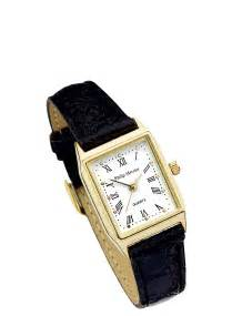 Furniture Protectors For Sofas Ladies White Face Black Strap Classic Square Face Watch