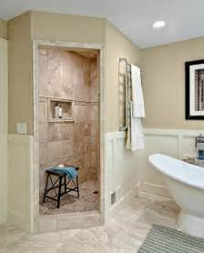 bathroom remodel ideas walk in shower walk in shower without door bathroom traditional with