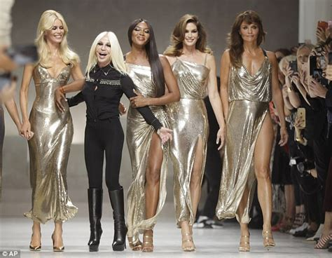 Fashion Week 101 What Does A Dresser Do by Helena Christensen Shows Age Defying At Versace