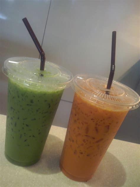 Greentea Thai Greentea 350ml things i about bangkok thai iced tea and iced green tea