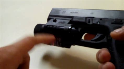glock 22 tactical light glock 22 with tactical light youtube