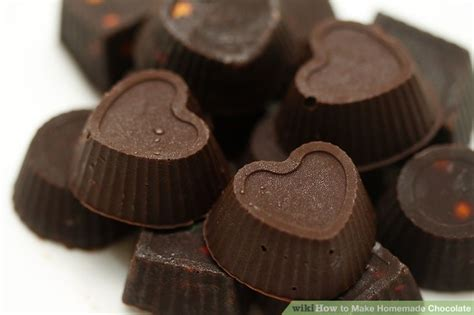 How To Make Handmade Chocolate - how to make chocolate 12 steps with pictures