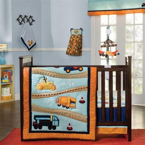 Construction Bed Set Zutano Construction Crib Bedding And Decor Baby Bedding And Accessories