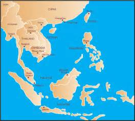 Map South East Asia by Gallery For Gt East Asia Map With Capitals