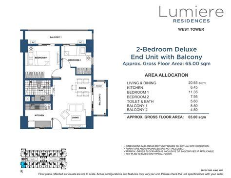 lumiere floor plan dmci homes lumiere residences pasig