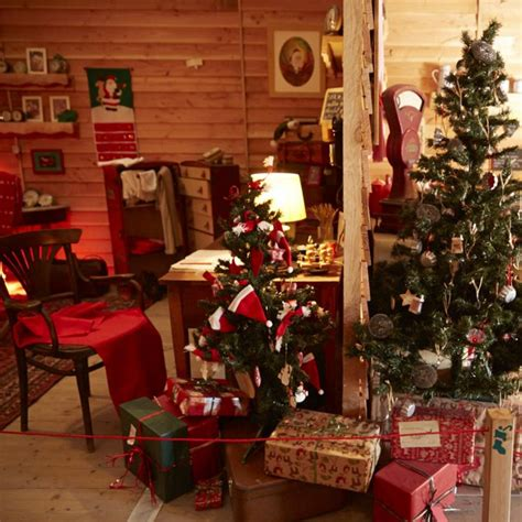 Deco Pere Noel by D 233 Co Maison Du Pere Noel Exemples D Am 233 Nagements