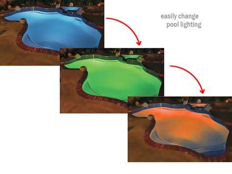 Lu Led Warna Warni remote untuk lu kolam renang
