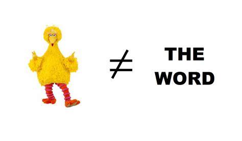 Bird Is The Word bird is not the word batshite