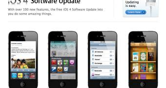 ios 4 software update full changelog, device