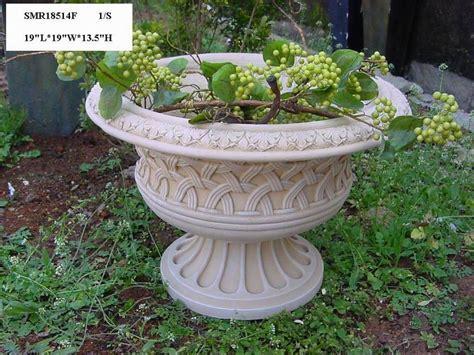 Decorative Garden Planters by Decorative Planters Garden Decor Made From Magnesia