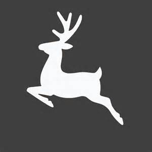 Free reindeer silhouette christmas printable entirely eventful day