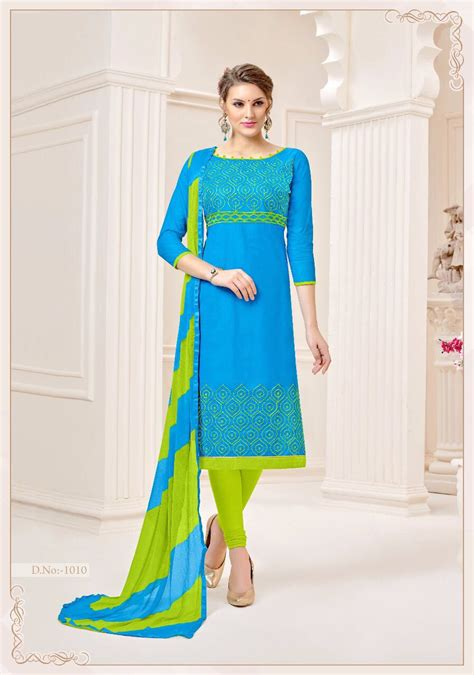 design dress material manufacturers chandrika designer wholesale printed cotton with daman