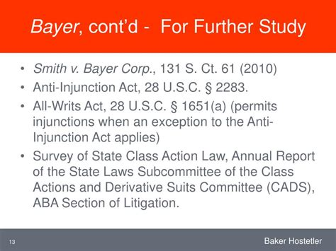 aba litigation section ppt opposing class certification after dukes bayer and