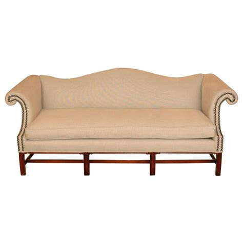 camel couch kittinger camel back sofa at 1stdibs