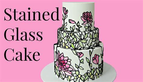 Wedding Cake Og by Stained Glass Wedding Cake Cake Style