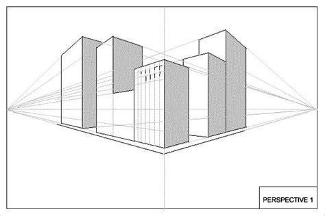 3d building drawing this is another 2 point perspective drawing of some