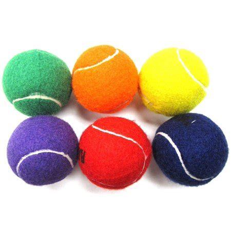 athletic color coast athletic color tennis balls walmart