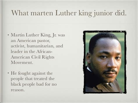 Martin Luther King Adam D Martin Luther King Presentation