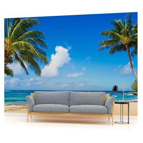 tropical sea beach sand seascape photo wallpaper wall