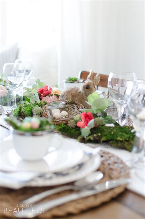 tablescape definition floral and moss easter tablescape a burst of beautiful