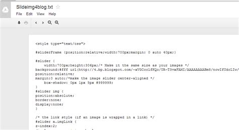 javascript layout widget how to create image slider blogger javascript tech
