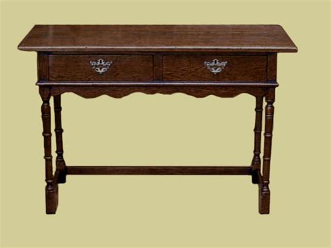 Oak Vanity Table With Drawers Oak Dressing Table With 2 Drawers Superb Value Handmade Oak Bedroom Furniture