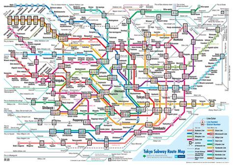 tokyo metro map traveling around misawa japan tokyo and subway maps