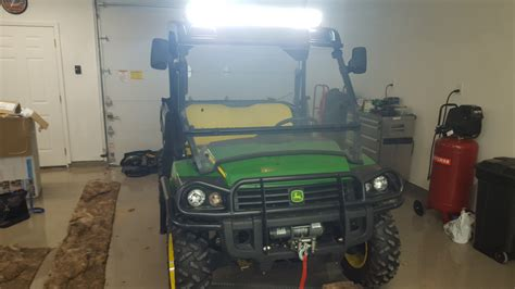 deere gator light bar led lightbar on my gator deere gator forums