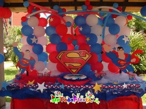Superman Decorations by Superman Decorations For Table Leo S 6th Birthday
