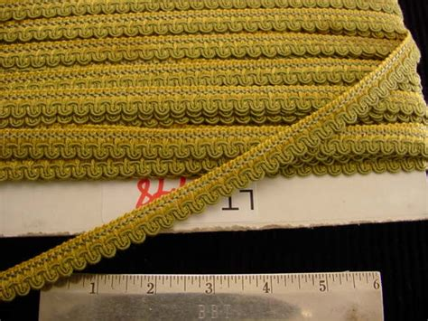 scroll braid trim made in italy vintage braided upholstery