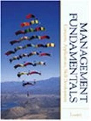 management fundamentals concepts applications and skill development books robert n lussier abebooks