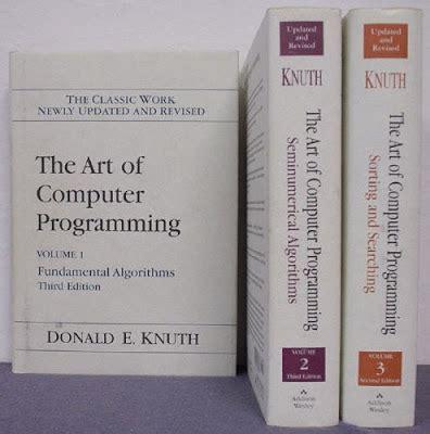 art of computer programming knuth philolibrorum livros antigos the art of computer