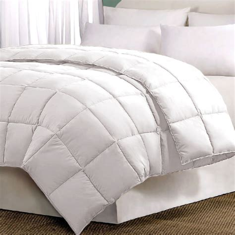 alternative down comforter essential home down alternative comforter home bed
