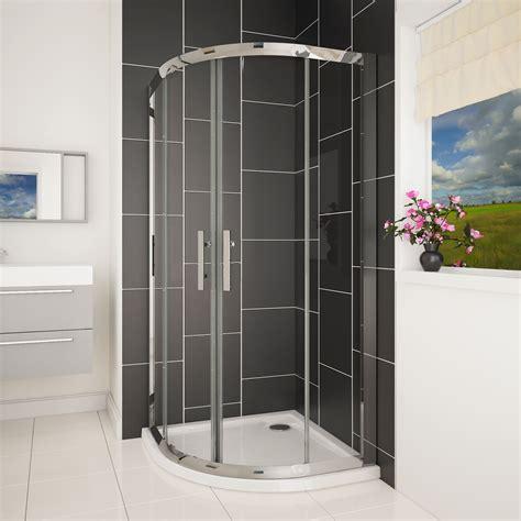 Shower Trays And Doors Easy Walk In Glass Quadrant Corner Sliding Door Shower
