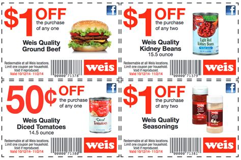 weis printable grocery coupons weis exclusive coupons save up to 3 50 deals living