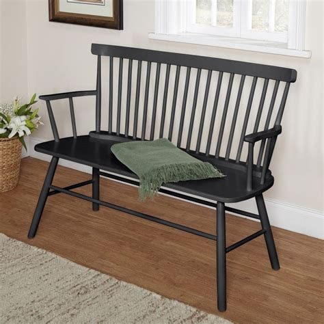 country style bench seats rectangle back windsor bench seat farmhouse country bench