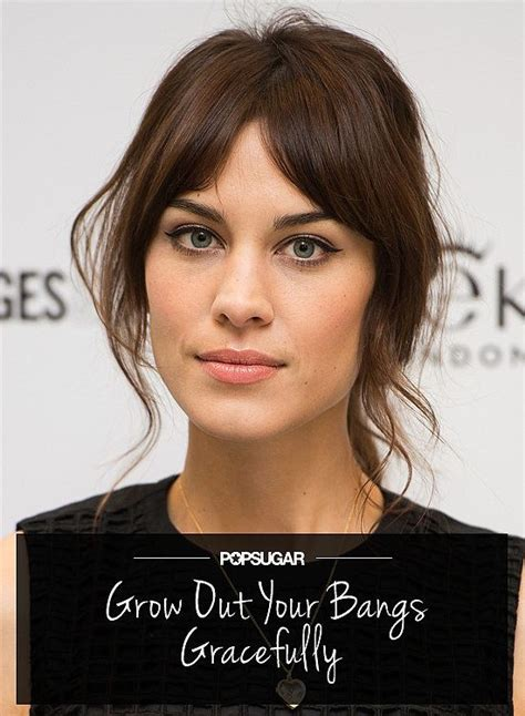 hairstyles letting bangs grow your ultimate guide to how to grow out bangs gracefully