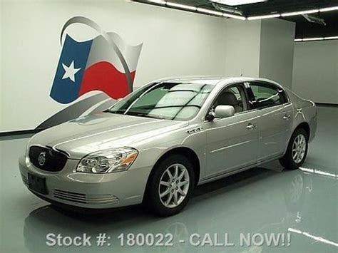how to fix cars 2008 buick lucerne parking system buy used 2008 buick lucerne cxl leather park assist alloys 33k texas direct auto in stafford