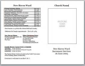 bulletin template church bulletin templates cyberuse