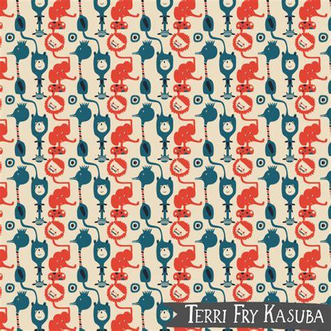 design pattern for zoo terri fry kasuba illustration