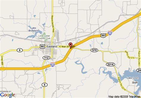 eastland texas map map of 8 motel eastland eastland
