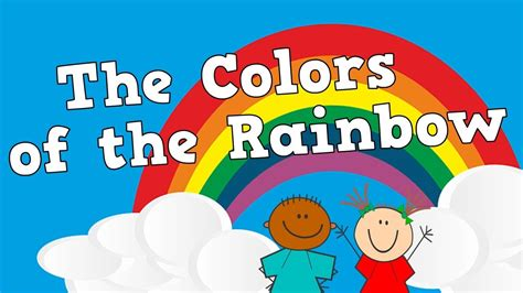 the song colors the colors of the rainbow roygbiv song following